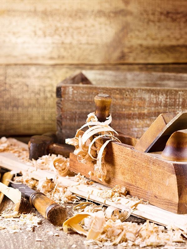Arbeiten mit Holz