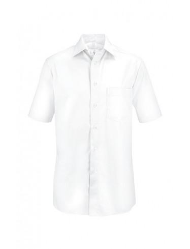 GREIFF Herren Hemd , Comfort Fit, halbarm, weiß