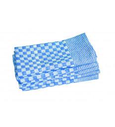 Touchon 50 x 100, blau-weiß