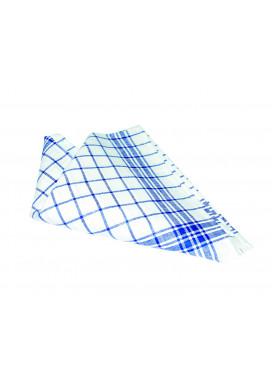 Geschirrtuch 60 x 80, blau-weiß