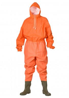 ELKA Schutzanzug mit Stiefeln, Orange