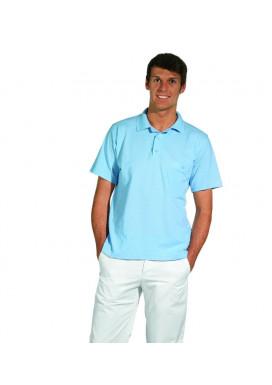 Polo-Pique-Shirt, hellblau