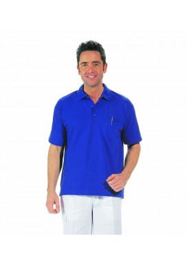 Polo-Pique-Shirt, königsblau