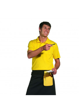 Polo-Pique-Shirt, gelb