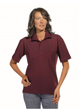 Polo-Pique-Shirt, bordeaux