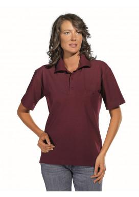 Polo-Pique-Shirt, bordeaux