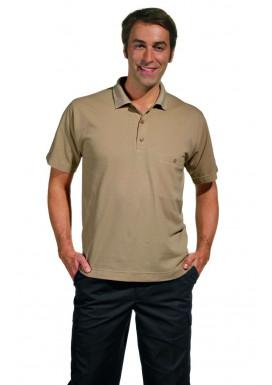 Polo-Pique-Shirt, sand