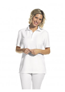 Polo-Shirt, weiß