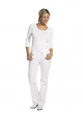 Damen Jeans lang, weiß