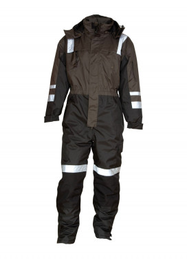 ELKA Working Xtreme Thermo-Overall, Anthrazit-Schwarz