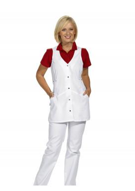 Trägerkleid, weiß