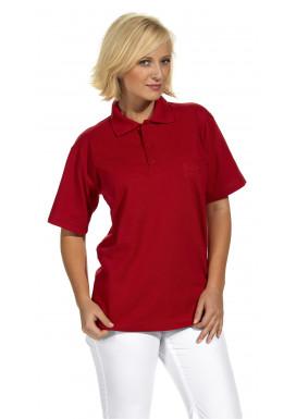 Polo-Pique-Shirt, rot