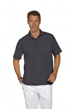 Polo-Pique-Shirt, grau