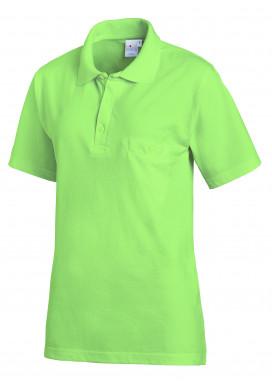 Leiber Pique Polo-Shirt 1/2-Arm, hellgrün