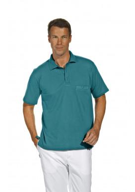 Polo-Pique-Shirt, petrol