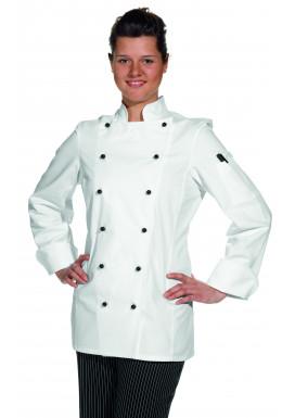 Damen-Kochjacke weiß