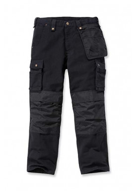 Carhartt WASHED DUCK MULTIPOCKET PANT, Schwarz