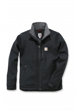 Carhartt CROWLEY SOFT SHELL JACKET, Schwarz