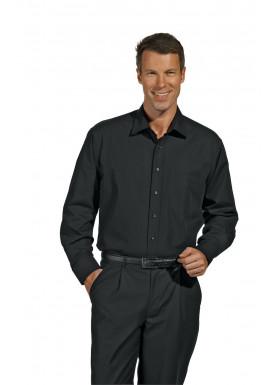 Herrenhemd Langarm, schwarz