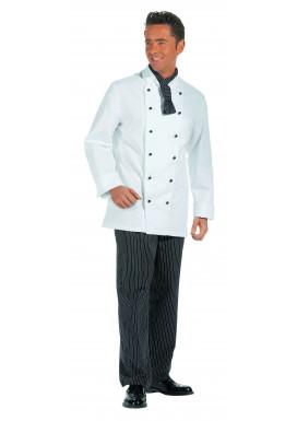 Damen und Herren Kochjacke 1/1 Arm weiß Gr. XL