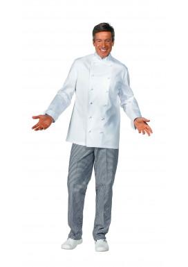 Damen und Herren Kochjacke weiß