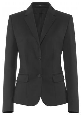 Damen-Blazer, Anthrazit, Basic Comfort Fit