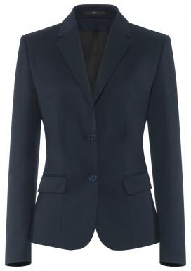 Damen-Blazer, Marine, Basic Comfort Fit