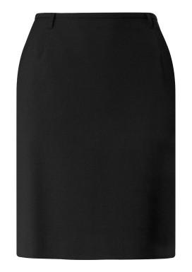 Damen-Stiftrock, Schwarz, Basic Comfort Fit