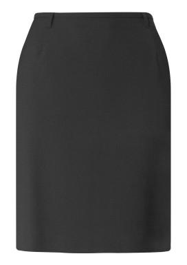Damen-Stiftrock, Anthrazit, Basic Comfort Fit