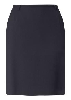 Damen-Stiftrock, Marine, Basic Comfort Fit