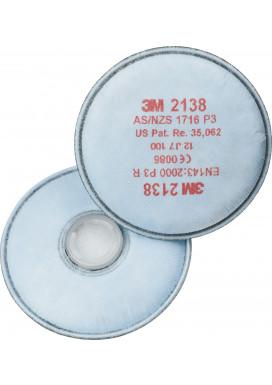 3M2138 Partikelfilter mit Aktivkohle P3