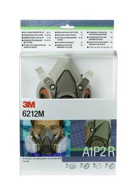 3M Halbmaskenset A1P2R