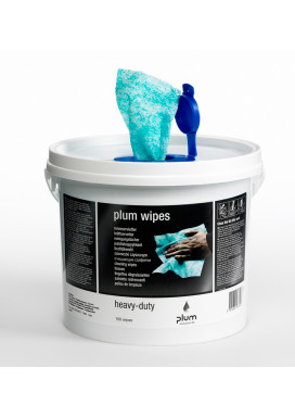 PLUM-Wipes Heavy-Duty Feuchttücher, Eimer