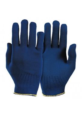 POLYTRIX-blau Schnittschutzhandschuhe ohne Noppen