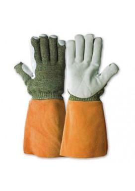 KarboTECT 946 mit Lederstulpe, Hitzeschutzhandschuhe bis 350°
