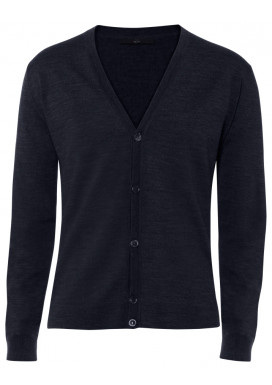 Herren Cardigan, Marine, Regular Fit