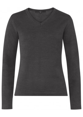 Damen Pullover, Anthrazit, Regular Fit