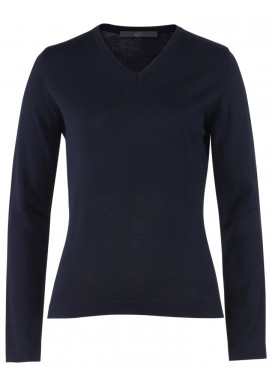Damen Pullover, Marine, Regular Fit