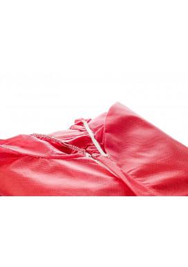 Poligard PP-Einwegoverall, rot