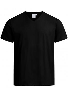Greiff Herren Shirt Kurzarm, Schwarz