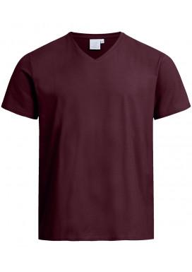 Greiff Herren Shirt Kurzarm, Burgund