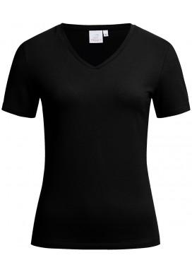 Greiff Damen Shirt Kurzarm, Schwarz