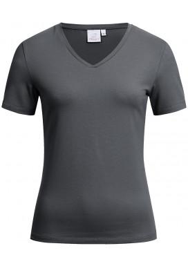 Greiff Damen Shirt Kurzarm, Anthrazit