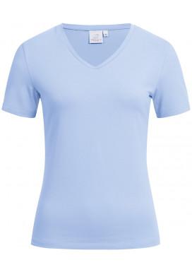 Greiff Damen Shirt Kurzarm, Bleu