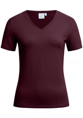 Greiff Damen Shirt Kurzarm, Burgund