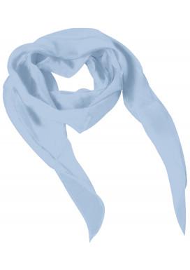 Schal bedruckt Bleu