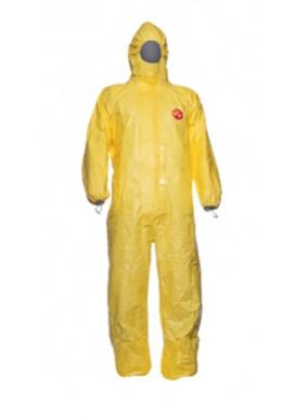 TYCHEM 2000 C - Der gelbe Chemikalienschutzanzug der Firma DuPont, Modell TCCHA5TYL00.