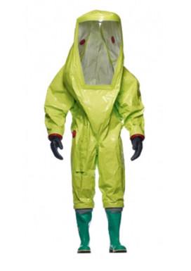 Der gasdichte Chemikalienschutzanzug zur Verwendung mit geschlossenem Atemschutz: DuPont TYCHEM TK, TKGEVJTYL00