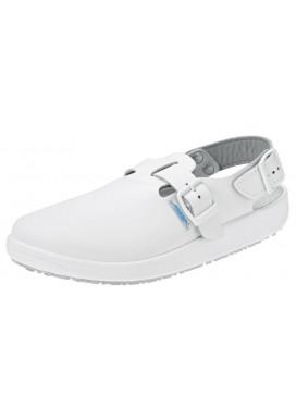 Abeba BASEL Pantolette weiß 9100