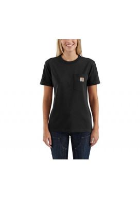 carhartt Women's Pocket SS T-Shirt, schwarz